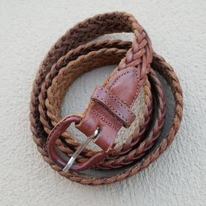 Other - Argentina Braided Full Grain Cowhide  Belt
